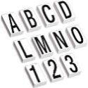Letter & Number Kits