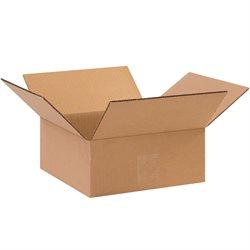 "10 x 10 x 4"" Flat Corrugated Boxes"