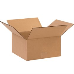 "10 x 10 x 5"" Flat Corrugated Boxes"
