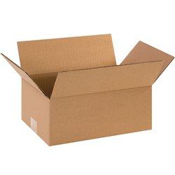 "10 x 6 x 3"" Flat Corrugated Boxes"