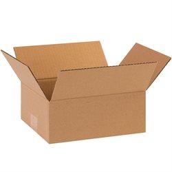 "10 x 8 x 4"" Flat Corrugated Boxes"