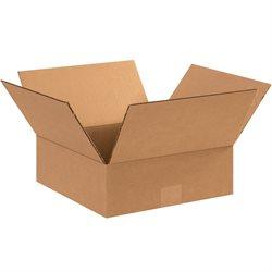 "11 x 11 x 4"" Flat Corrugated Boxes"