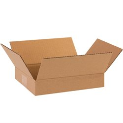 "11 1/4 x 8 3/4 x 2 3/4"" Flat Corrugated Boxes"
