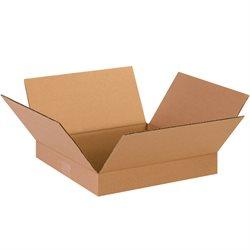"13 x 13 x 2"" Flat Corrugated Boxes"