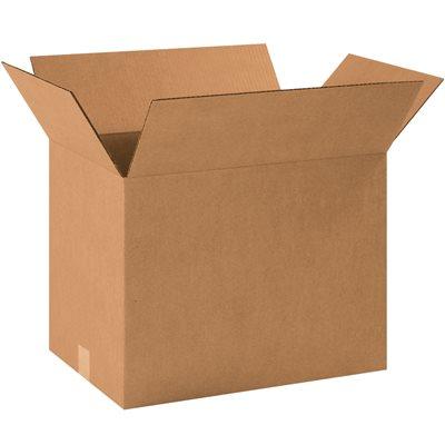 "18 1/2 x 12 1/2 x 14"" Corrugated Boxes"