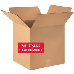 """18 x 18 x 18"""" V3c Weather-Resistant Corrugated Boxes"""