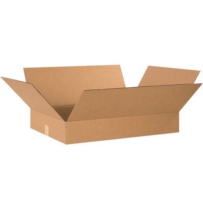 "22 x 16 x 4"" Flat Corrugated Boxes"