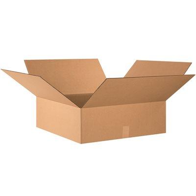 "24 x 24 x 8"" Flat Corrugated Boxes"