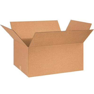 "26 x 18 x 12"" Corrugated Boxes"