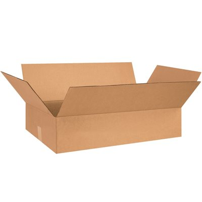 "30 x 20 x 8"" Flat Corrugated Boxes"
