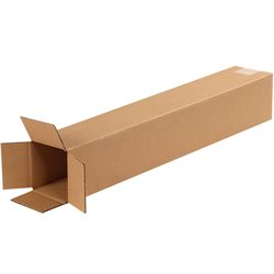 "4 x 4 x 24"" Tall Corrugated Boxes"