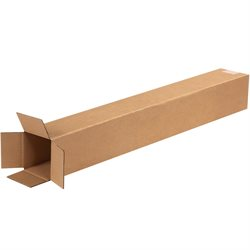 "4 x 4 x 32"" Tall Corrugated Boxes"
