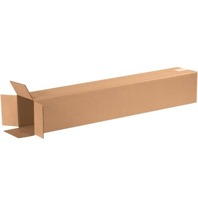 """6 x 6 x 36"""" Tall Corrugated Boxes"""