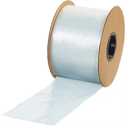 """3"""" x 5"""" - 2 Mil Poly Bags on a Roll"""
