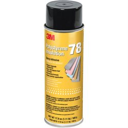 3M Polystyrene Foam Insulation 78 Adhesive