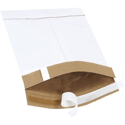 """6 x 10"""" White (25 Pack) #0 Self-Seal Padded Mailers"""