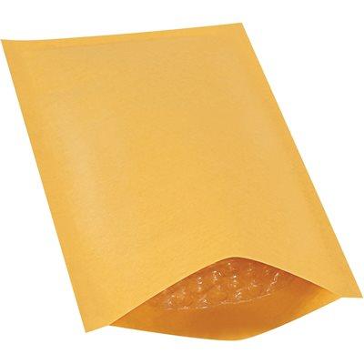 """5 x 10"""" Kraft #00 Heat-Seal Bubble Mailers"""