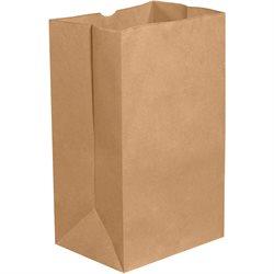 """12 x 7 x 17"""" Kraft Grocery Bags"""