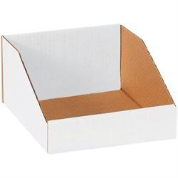 """8 x 9 x 4 1/2"""" White Bin Boxes"""