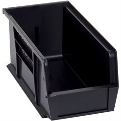 "10 7/8 x 5 1/2 x 5"" Black Conductive Bin Boxes"