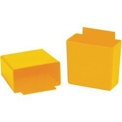 "3 1/4 x 1 3/4 x 3"" Yellow Shelf Bin Cups"