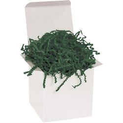 10 lb. Forest Green Crinkle Paper