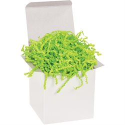 10 lb. Lime Crinkle Paper