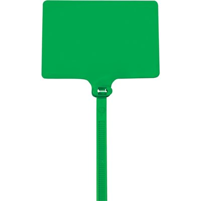 """9"""" 120# Green Identification Cable Ties"""