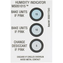 "2 x 3"" 5-10-15% Humidity Indicators"