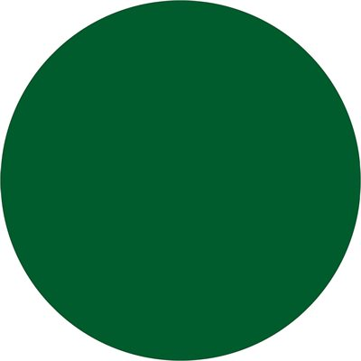 """1"""" Green Inventory Circle Labels"""
