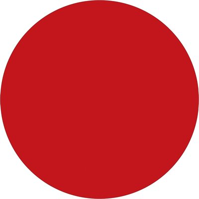 """2"""" Red Inventory Circle Labels"""