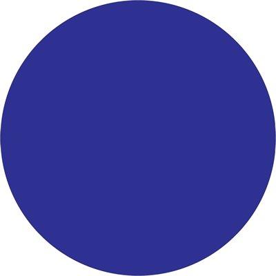 "4"" Dark Blue Inventory Circle Labels"