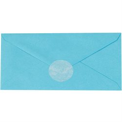 "2"" Frosty White Circle Paper Mailing Labels"