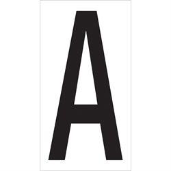 """3 1/2"""" """"A"""" Vinyl Warehouse Letter Labels"""
