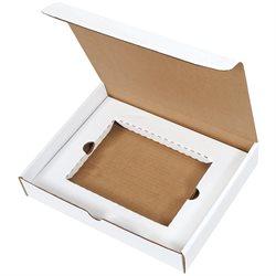 """11 1/8 x 8 3/4 x 2"""" White DVD Literature Mailer Kit"""