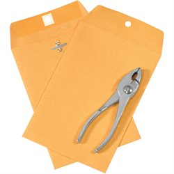 "6 x 9"" Kraft Clasp Envelopes"