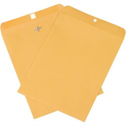 "9 x 12"" Kraft Clasp Envelopes"