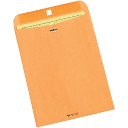 "9 1/2 x 12 1/2"" Kraft Clasp Envelopes"
