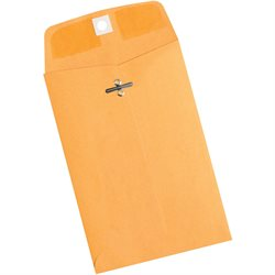 "5 x 7 1/2"" Kraft Clasp Envelopes"