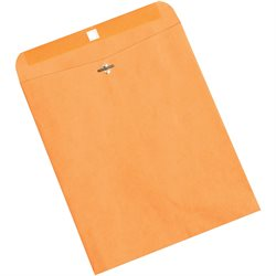 "10 x 12"" Kraft Clasp Envelopes"
