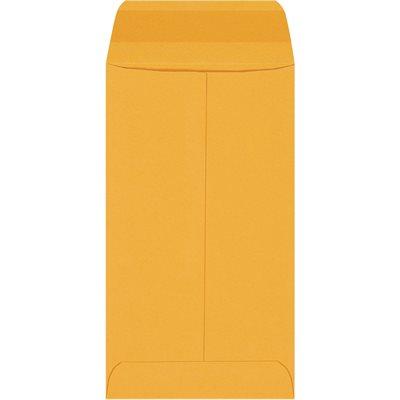 """3 3/8 x 6"""" Kraft Gummed Envelopes"""