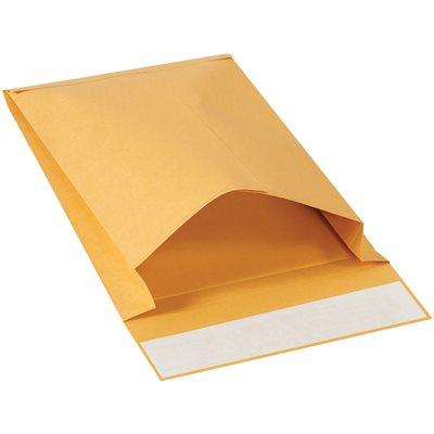 "9 x 12 x 2"" Kraft Expandable Self-Seal Envelopes"