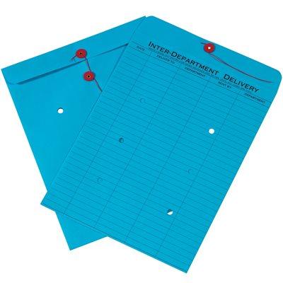 "10 x 13"" Blue Inter-Department Envelopes"
