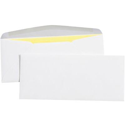 "4 1/8 x 9 1/2"" - #10 Right Window Gummed Business Envelopes"