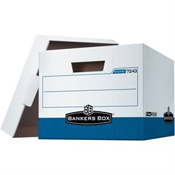 "15 x 12 x 10"" Blue R-Kive® File Storage Boxes"