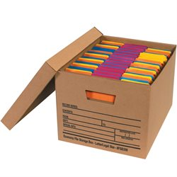 "15 x 12 x 10"" Economy File Storage Boxes"