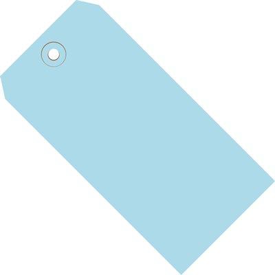 "8 x 4"" Light Blue 13 Pt. Shipping Tags"