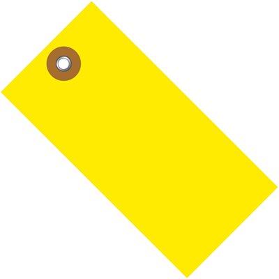 "4 3/4 x 2 3/8"" Yellow Tyvek® Shipping Tags"