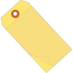 """4 3/4 x 2 3/8"""" Yellow Self-Laminating Tags"""