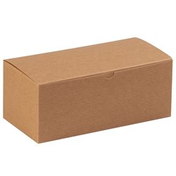 "10 x 5 x 4"" Kraft Gift Boxes"